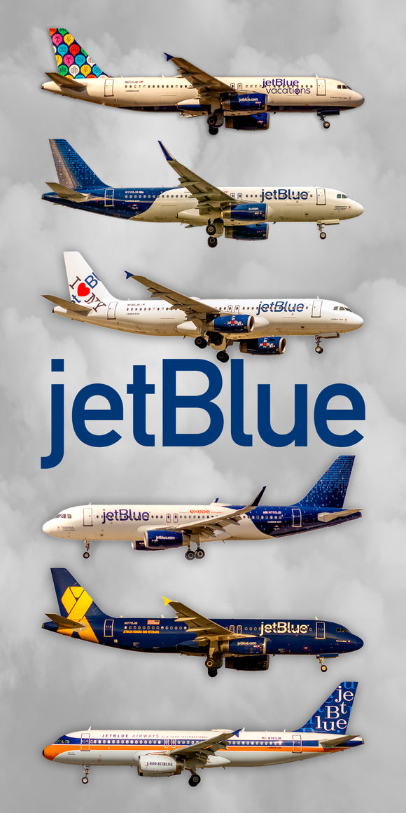 JetBlue Airlines Special Color Collage (APPM90005)
