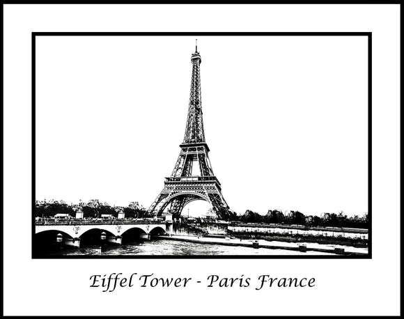 Eiffel Tower Paris France (CDG1712240409)