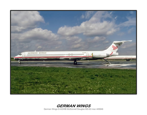 German Wings Airlines MD-83 (D093LGJC11X14)