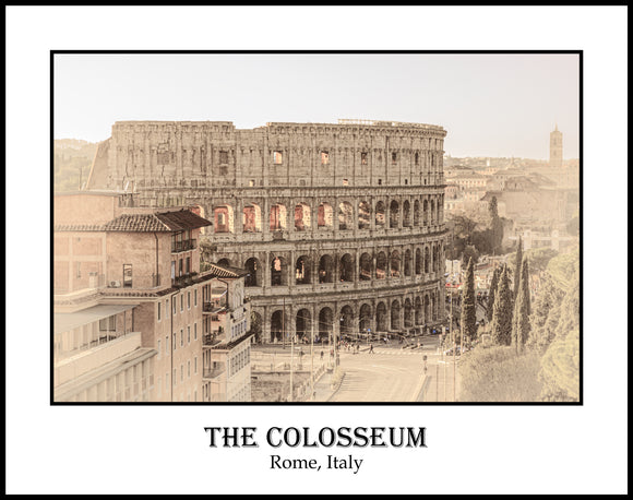 The Colosseum Rome Italy (FCO19122580411x14)