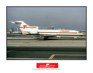 Trump Shuttle Airlines Boeing 727-25 (I214RGEG11X14)