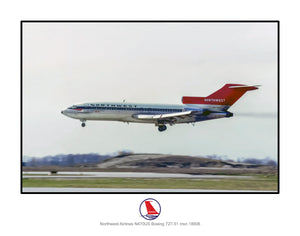 Northwest Airlines Boeing 727-51 (I226LAJF11X14)