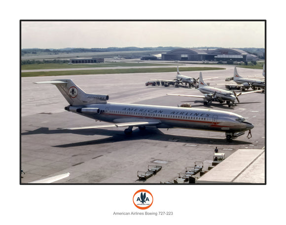 American Airlines Boeing 727-223 (I230RGSP11X14