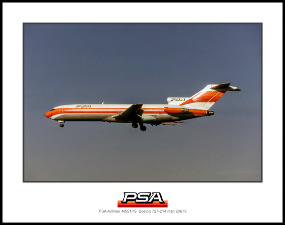 PSA Airlines Boeing 727-214 (I265LAAL11X14)