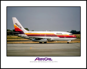 AirCal Airlines Boeing 737-293 (J177RGED11X14)