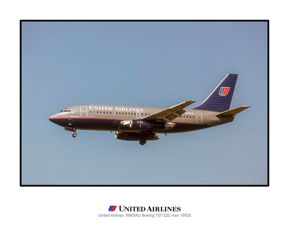 United Airlines Boeing 737-200 (J178LAJF11X14)