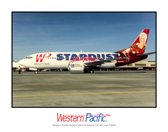 Western Pacific Airlines Boeing 737-301 (K034LGAA11X14)