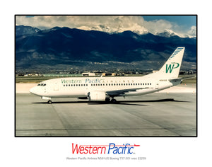 Western Pacific Airlines Boeing 737-301 (K037LGAA11X14)