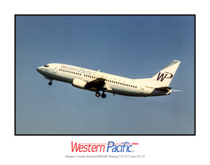 Western Pacific Airlines Boeing 737-317 (K038LAAA11X14)