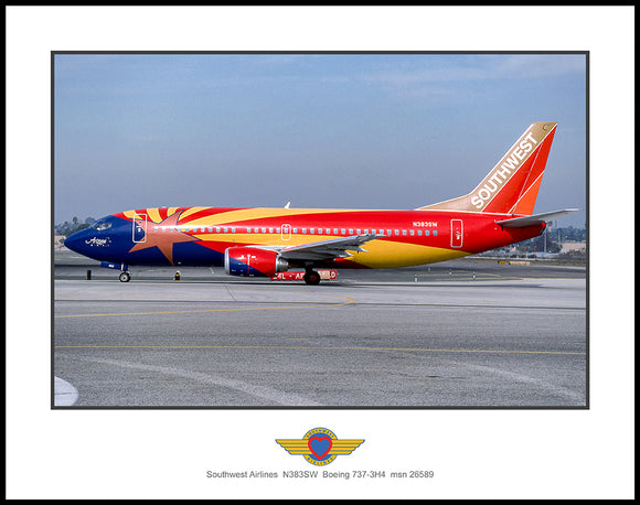 Southwest Airlines Boeing 737-3H4 (K045LGDH11X14)