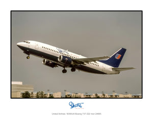Shuttle by United Airlines Boeing 737 (K149LAJF11X14)