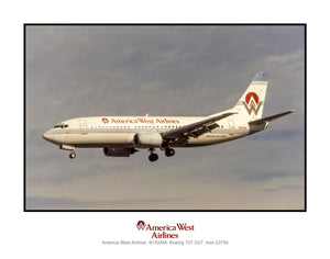 America West Airlines Boeing 737-3G7 (K171LAJF11X14)