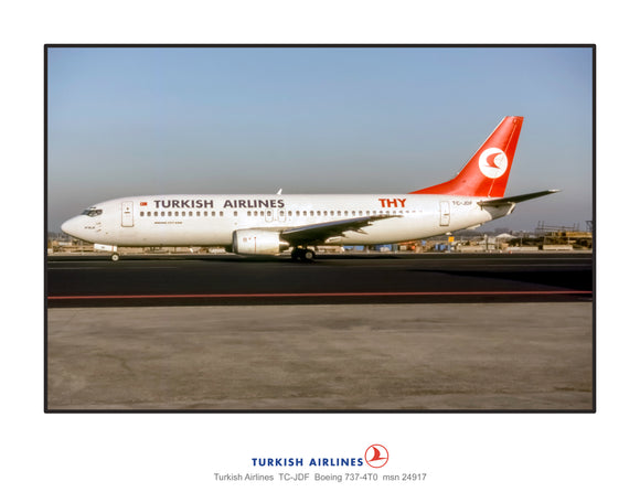 Turkish Airlines Boeing 737-4T0 (L046LGEG11X14)