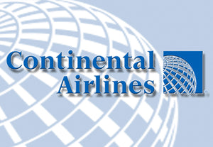Continental Airlines Globe Logo (LM14006)