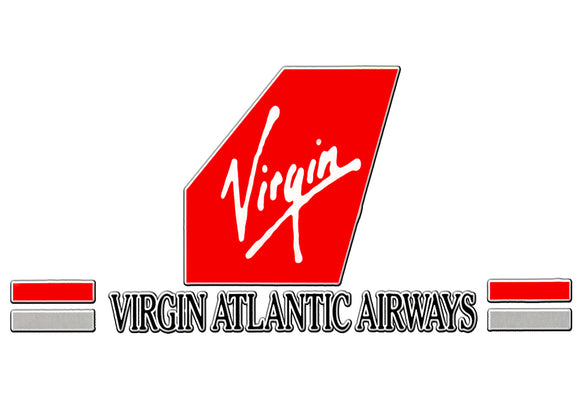 Virgin Atlantic 90s Logo (LM14023)