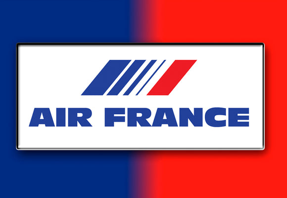 Air France Airlines Logo (LM14025)