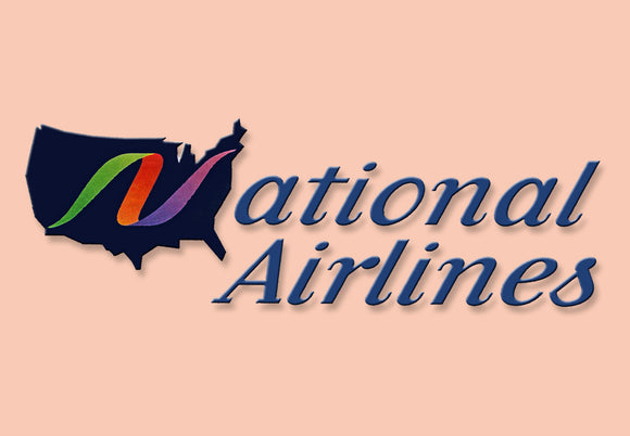 National Airlines Logo (LM14031)