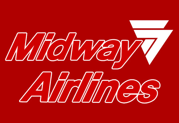 Midway Airlines Logo (LM14036)
