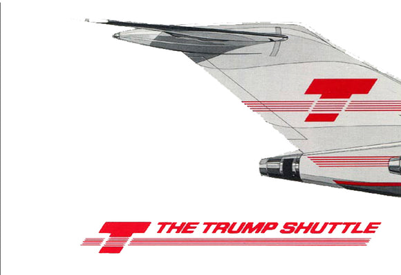 Trump Shuttle Airlines Logo (LM14038)