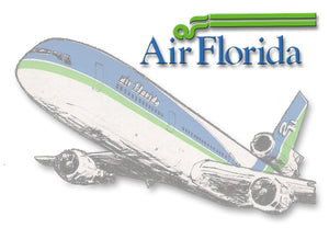 Air Florida Airlines Logo (LM14041)