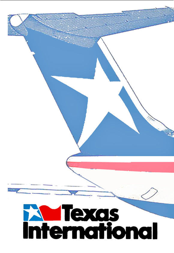 Texas International Airlines Logo (LM14046)