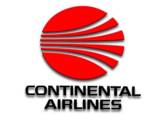 Continental Airlines Red Logo (LM14076)
