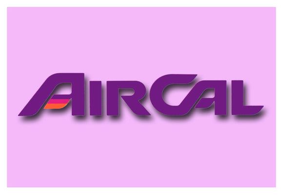 AirCal Airlines Logo (LM14100)
