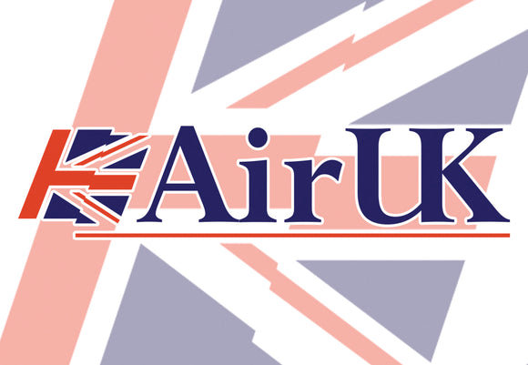 AirUK Airlines Logo (LM14104)