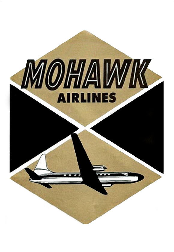 Mohawk Airlines with airplane Logo (LM14105)