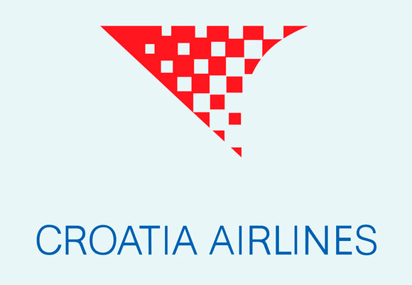 Croatia Airlines Logo (LM14110)