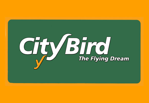City Bird Airlines Logo (LM14113)