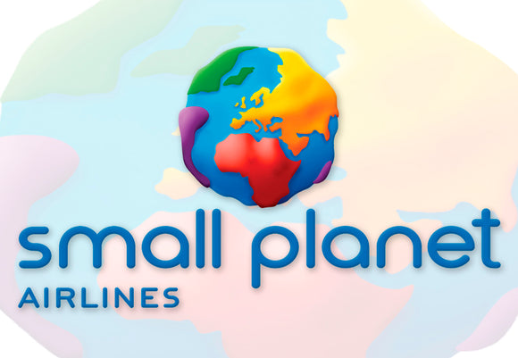 Small Planet Airlines Logo (LM14125)