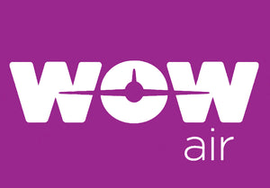 WOW Air Airlines Logo (LM14140)