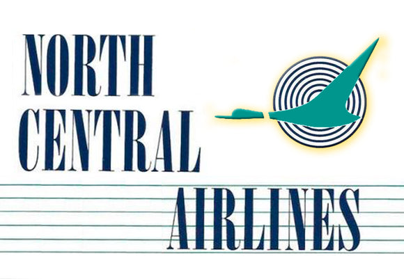 North Central Airlines Logo (LM14163)