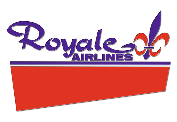 Royale Airlines Logo (LM14174)