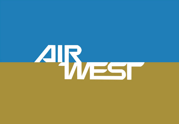 Air West Airlines Logo (LM14180)