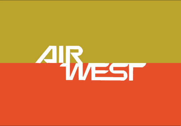 Copy of Air West Airlines Logo (LM14181)