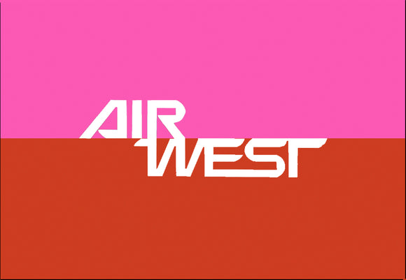 Air West Airlines Logo (LM14188)