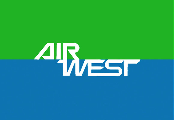 Air West Airlines Logo (LM14189)