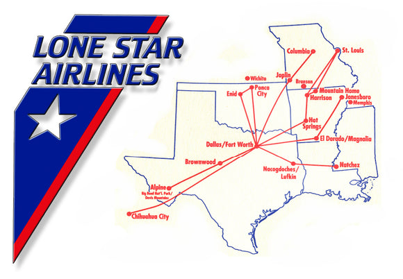 Lone Star Airlines Logo (LM14210)