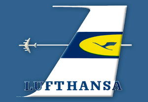 Lufthansa Airlines (Old) Logo (LM14230)