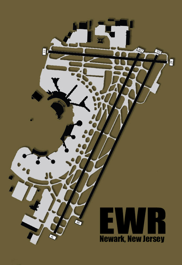 EWR Newark Airport Diagram (MM10001)