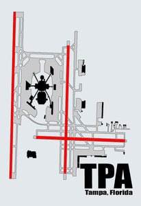 TPA Tampa Airport Diagram (MM10009)