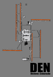 DEN Denver Airport Diagram (MM10010)
