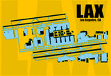 LAX Los Angeles Airport Diagram (MM10015)
