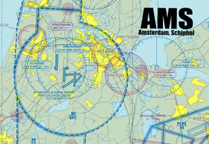 AMS Amsterdam Sectional Map (MM10500)