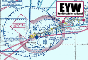 EYW Key West Airport Sectional Map (MM10505)