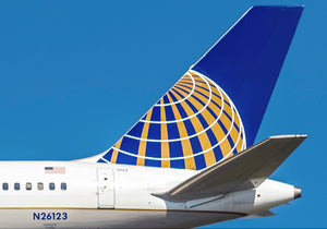 United Airlines Tail (PMCT4015)