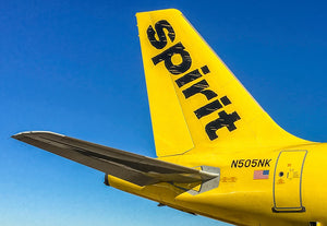 Spirit Airlines Tail (PMCT4021)
