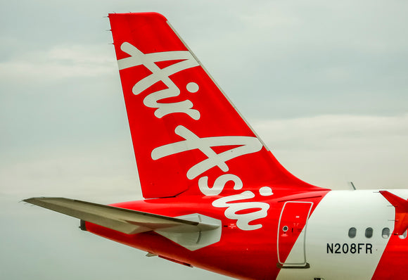 Air Asia Tail Logo (PMCT4026)
